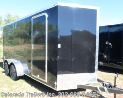 #14715 - 2018 Wells Cargo 7x16+V Smooth Skin Cargo Trailer