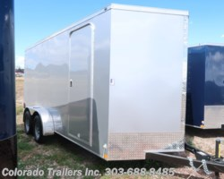 #14716 - 2018 Wells Cargo 7x16+V Enclosed Cargo Trailer