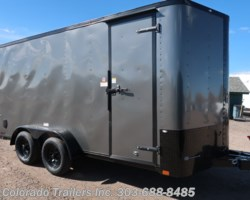 #14792 - 2019 Cargo Craft Elite V Sport 7x16 Enclosed Cargo Trailer