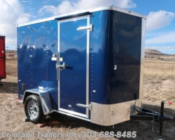 #14818 - 2019 Cargo Craft 6x10 Enclosed Cargo Trailer