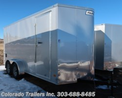#14806 - 2019 Haulmark 7x16+V Enclosed Cargo Trailer
