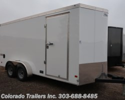 #14831 - 2019 Haulmark 7x16+V Enclosed Cargo Trailer