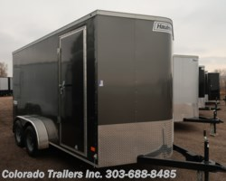 #14832 - 2019 Haulmark 7x14+V Enclosed Cargo Trailer