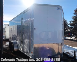 #14807 - 2019 Haulmark 7x16+V Enclosed Cargo Trailer