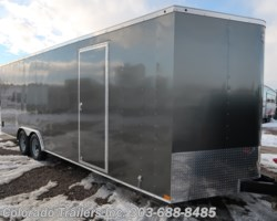 #14916 - 2019 Wells Cargo 8.5x24 V Nose Cargo Trailer