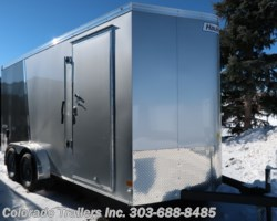 #14904 - 2019 Haulmark 7x16+V Enclosed Cargo Trailer