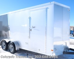 #14950 - 2019 Haulmark Transport 7x16 Smooth Skin Cargo Trailer