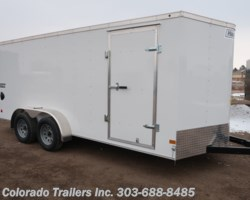 #14966 - 2019 Haulmark 7x16+V Enclosed Cargo Trailer