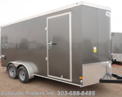 #14970 - 2019 Haulmark 7x16+V Enclosed Cargo Trailer