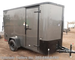 #14924 - 2019 Cargo Craft 6x12 Enclosed Cargo Trailer