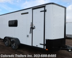 #14991 - 2019 Cargo Craft 7x18 Insulated Cargo Trailer