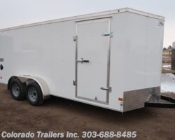 #15004 - 2019 Haulmark 7x16+V Enclosed Cargo Trailer