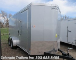 #15064 - 2019 Haulmark 7x16+V Enclosed Cargo Trailer