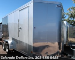 #15054 - 2019 Haulmark 7x16+V Enclosed Cargo Trailer