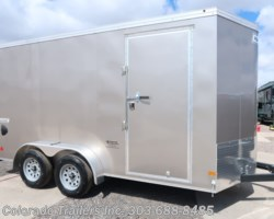 #15082 - 2019 Haulmark 7x14+V Enclosed Cargo Trailer