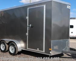 #15081 - 2019 Haulmark 7x14+V Enclosed Cargo Trailer