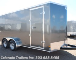 #15111 - 2019 Haulmark 7x16+V Enclosed Cargo Trailer