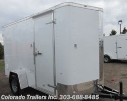 #15124 - 2019 Cargo Craft 6x12 Enclosed Cargo Trailer