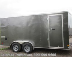 #14906 - 2019 Haulmark 7x16+V Enclosed Cargo Trailer