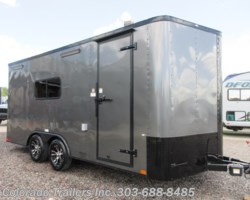 #15166 - 2019 Cargo Craft Elite V Sport 8.5x18 Insulated Cargo Trailer