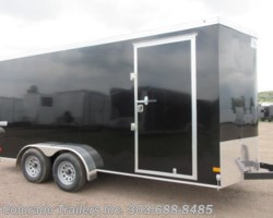 #15207 - 2019 Haulmark 7x16+V Enclosed Cargo Trailer