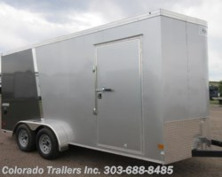 #15204 - 2019 Haulmark 7x16+V Enclosed Cargo Trailer