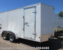 #15201 - 2019 Haulmark 7x14+V Enclosed Cargo Trailer