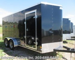 #15198 - 2019 Haulmark 7x16+V Enclosed Cargo Trailer