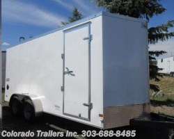 #15199 - 2019 Haulmark 7x16+V Enclosed Cargo Trailer