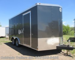 #15216 - 2019 Wells Cargo FastTrac 8.5x16+V Enclosed Cargo Trailer