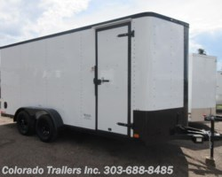 #15220 - 2019 Cargo Craft 7x18 Blackout Cargo Trailer