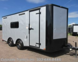 #15264 - 2019 Cargo Craft 8.5x18 Insulated Cargo Trailer!