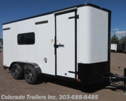 #15293 - 2019 Cargo Craft 7x16 Insulated Enclosed Cargo Trailer