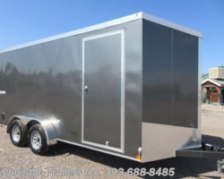 #15322 - 2019 Haulmark 7x16+V Enclosed Cargo Trailer