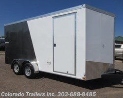#15321 - 2019 Haulmark 7x16+V Enclosed Cargo Trailer