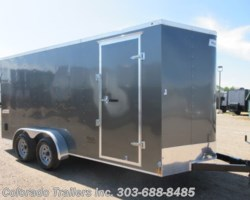 #15320 - 2019 Haulmark 7x16+V Enclosed Cargo Trailer