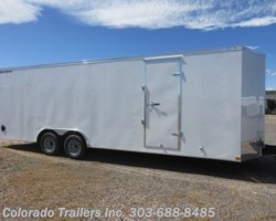 #15333 - 2020 Wells Cargo FastTrac 8.5x24+V Enclosed Cargo Trailer