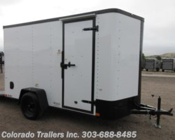 #15365 - 2020 Cargo Craft 6x12 Blackout Cargo Trailer