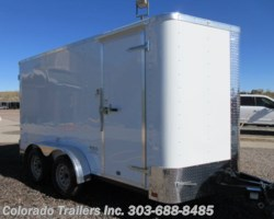 #15393 - 2019 Cargo Craft 7x14 Cargo Trailer with Rear Barn Doors!