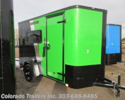 #15448 - 2020 Cargo Craft 6x12 Insulated Cargo Trailer