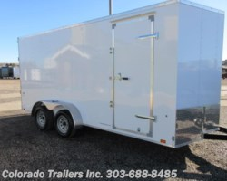 #15510 - 2020 Look 7x16 Enclosed Car Hauler