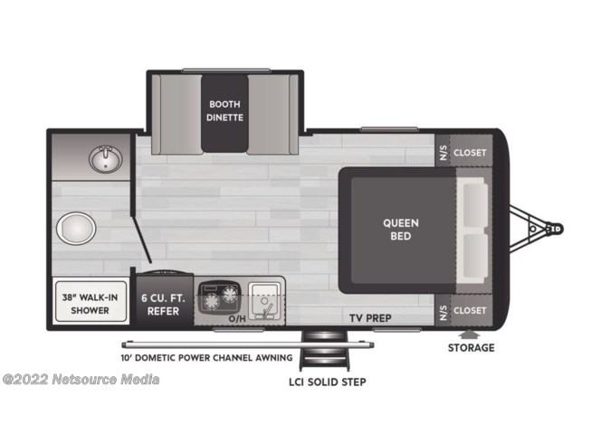 2021 Keystone Hideout 179RB - New Travel Trailer For Sale by U-Neek RV Center in Kelso, Washington