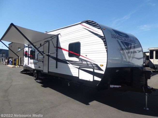 New 2021 Forest River Shockwave 27RQMX available in Kelso, Washington