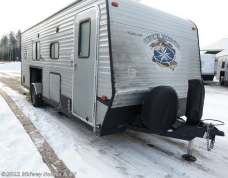 1140 15 2015 Forest River True North Ice Lodge T8x20sv Toy Hauler For Sale In Grand Rapids Mn