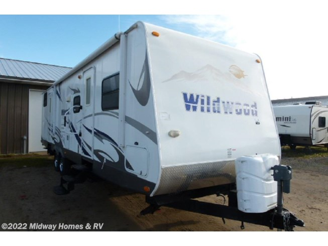 2009 Forest River Wildwood 312QBUD