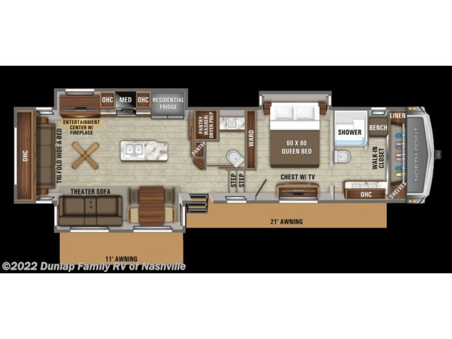 New 2021 Jayco North Point available in Lebanon, Tennessee