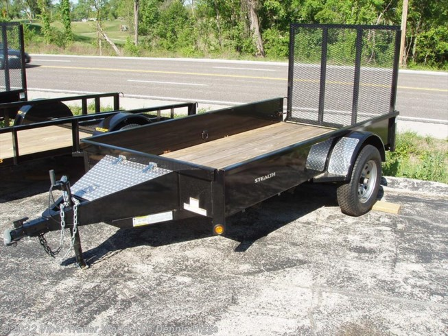 2018 Rice Trailers Stealth 5' x 8'