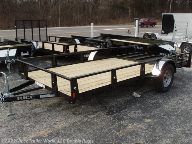 "2018 Rice Trailers SE New Style 76"" x 10'"