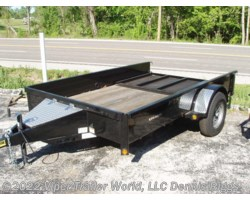 "#7612STBLK-20401 - 2018 Rice Trailers Stealth 76"" x 12'"