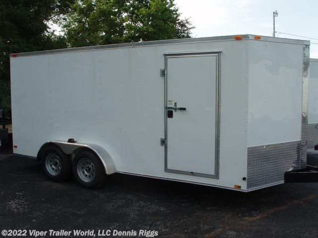 2018 Triple R 7 x 14 V Nose Double Door 6'-3""